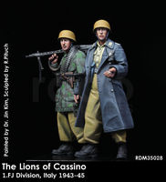 The Lions of Cassino / 1. FJ Division, Italy 1943-45