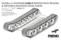 Sd.Kfz.171 Panther Early Production Tracks & Movable Running Gear Parts - Image 1