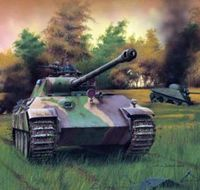 German medium tank PzKpfw V Panther