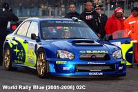 1041 Subaru 555 Rally Blue (1997-2002) 74F