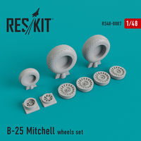 North American B-25 Mitchell wheels set - Image 1