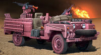 "Land Rover SAS Recon vehicle ""Pink Panther"""