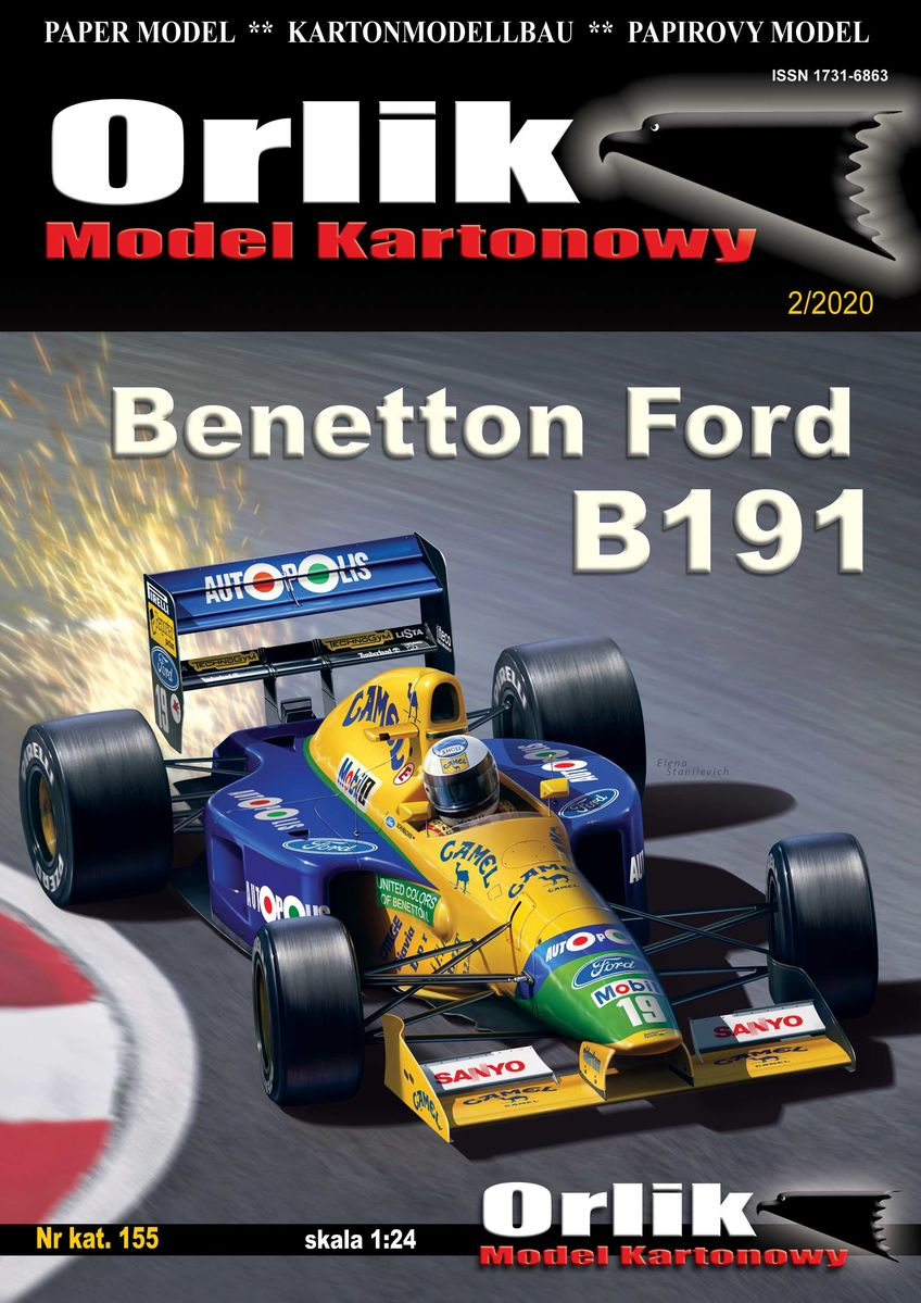Bolid F1 Benetton Ford B191 - Image 1