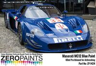 1424 Maserati MC12 Blue Paint