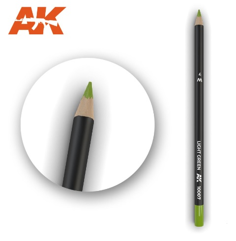 Watercolor Pencil Light Green - Image 1