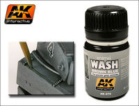 AK 070 WASH FOR PANZER GREY