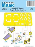 SAAB 37 Viggen - Single Seater Versions