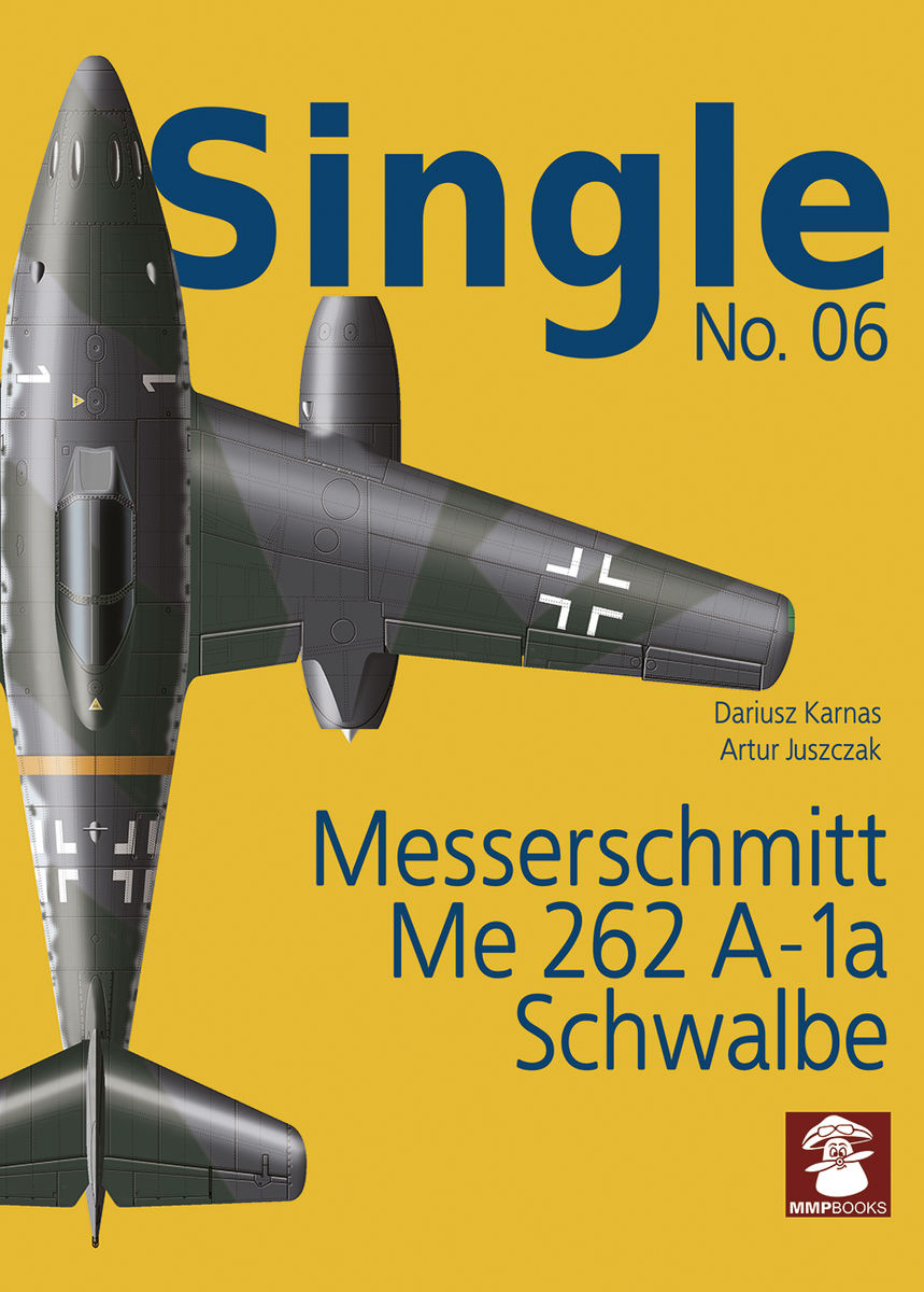 Single No. 06. Messerschmitt Me 262 A-1a Schwalbe - Image 1