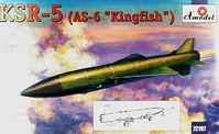 Raduga KSR-5 (AS-6 Kingfish) Soviet Long-Range Air Launched Cruise Missile and Anti Ship Missile