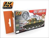 AK 561 Soviet Camouflages Soviet tank colors 1935-1945 Set