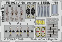A-6A seatbelts STEEL  HOBBY BOSS - Image 1