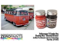 1475 Volkswagen T1 Samba Bus (Sealing Wax - Chestnut Brown) Set