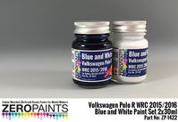 1422 Volkswagen Polo R WRC 2015 - Blue and White Set