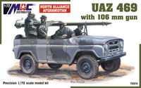 UAZ 469 with106mm gun Afgan. - Image 1