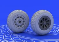 P-51 wheels TAMIYA - Image 1