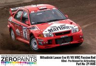 1486 Mitsubishi Lancer Evo VI WRC Passion Red