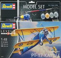 Stearman PT-17 Kaydet Model Set
