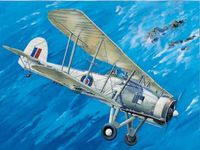 British IIWW Torpedobomber Fairey Swordfish Mark II