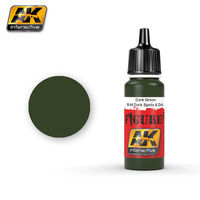 AK3023 Dark Green / M-44 Dark Spots & Dots