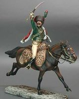 Officer  of Chasseurs  a Cheval de la Garde  1804-1815 - Image 1
