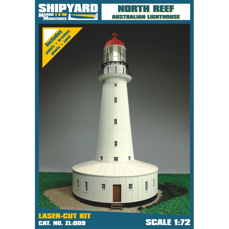 North Reef Lighthouse skala 1:72 - Image 1