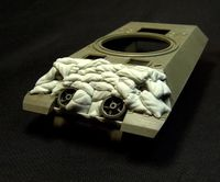 "Sand Armor for M10 ""Wolverine"" Tank Destroyer - Image 1"