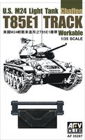 T85E1 Track Workable for U.S. M24 Light Tank Chaffee - Image 1