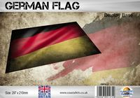 German Flag 297 x 210mm