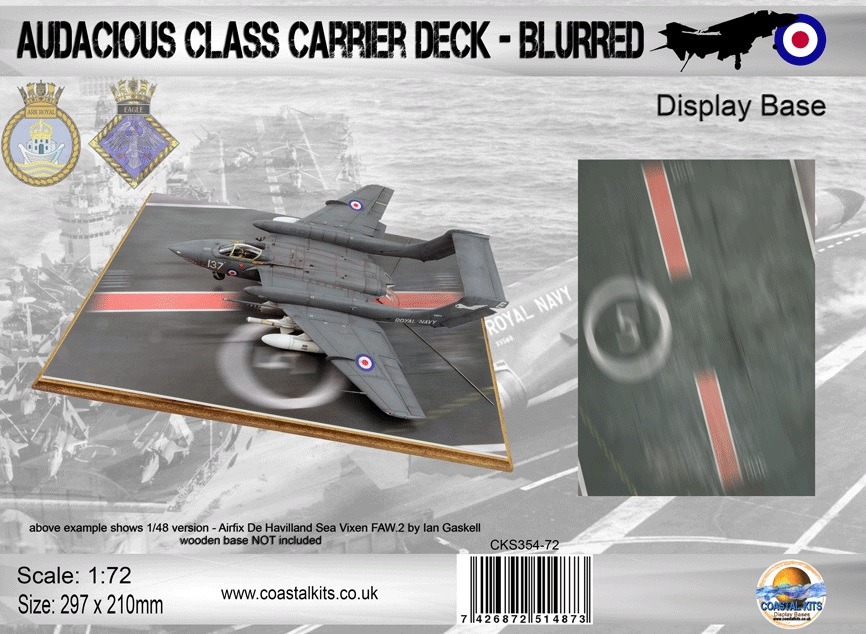 Audacious Class Carrier Deck - Blurred 297 x 210mm - Image 1