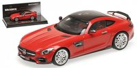 Brabus 600 Auf Basis Mercedes-Ben AMG GTS 2016 (red)