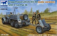 Krupp Protze L2H143 Kfz.69 (Late version) with 3.7cm Pak 36 - Image 1