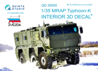 MRAP Typhoon-K 3D-Printed & coloured Interior on decal paper - Image 1
