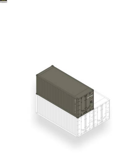 20 Feet Cargo Container - Image 1