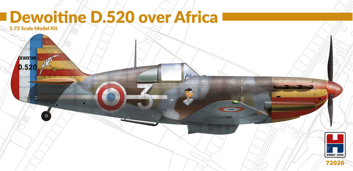 Dewoitine D.520 over Africa - Image 1