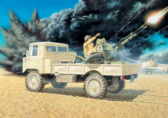 GAZ-66 with ZU-23-2 - Image 1