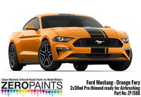 1568 Ford Mustang 2019 - Orange Fury