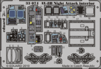 AV-8B Night Attack interior S.A.  1/32 TRUMPETER