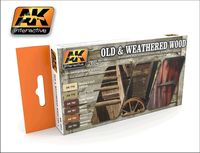 AK 562 Old and Weathered Wood vol.1 set