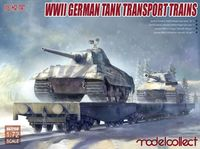 WWII German tank transport trains - Image 1