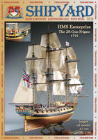 HMS Enterprize nr32 skala 1:96