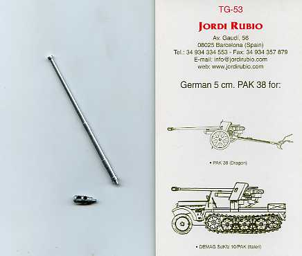50mm German Pak-38 - Image 1