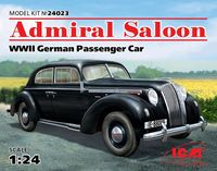 Admiral Saloon (WWII German Passenger Car)