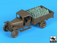 Russian 1.5 ton Cargo Truck accessories set for Tamiya