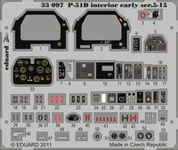 P-51D Interior early ser.5-15 S.A. TAMIYA - Image 1