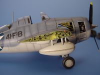 F4F WILDCAT wingfold set Tamiya