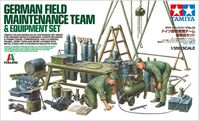 German Field Maintenance Team & Equipement Set
