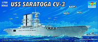 USS Saratoga CV-3 WW2 American Carrier Copy