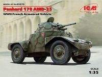 Panhard 178 AMD-35, WWII French Armoured Vehicle (100% new molds) - Image 1
