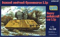Heavy Antiaircraft Car S.Sp ARMORED