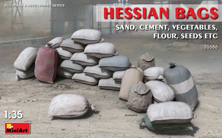 Hessian Bags Sand, Cement, Vegetables, Flour, Seeds etc - Image 1